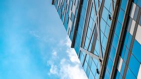 Angle View Of Commercial Building stock photos