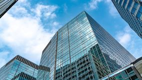Angle View Of Commercial Building royalty free stock image
