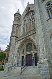 Entry in Saint Antoine church Royalty Free Stock Image