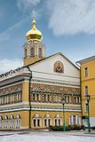 Angle view of Intercession Church of the Holy Virgin - Lavra, Se Stock Photos