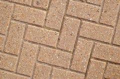 Angled Block Paving. Block paving layed at right angles royalty free stock photos