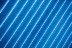 Angled Blue Stripes Stock Images