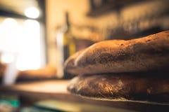 Angled bread Florence dark Stock Photos
