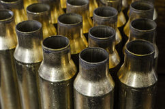 Angled Bullet Casings Stock Photos