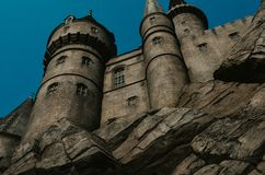 Hogwarts Castle of Universal Studios royalty free stock images