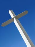Angled Cross Royalty Free Stock Images