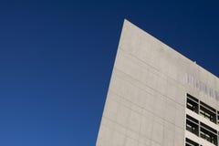 Angled Modern Building Stock Image