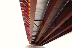 Angled New Bridge Royalty Free Stock Images