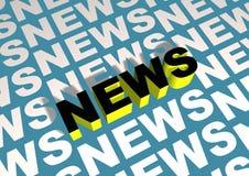Angled News royalty free stock photography