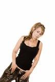 Angled portrait Stock Image