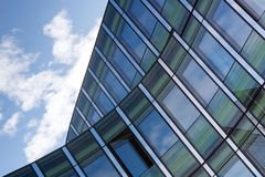 Angled shot of an office building Stock Photography