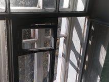 Sunlight through the window stock photo