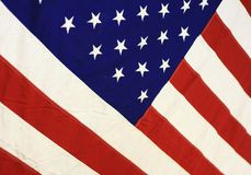 Angled Stars And Stripes Royalty Free Stock Images