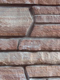 Angled Stone Masonry. Background and Texture Stock Images