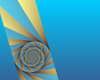 Angled swirl Royalty Free Stock Images