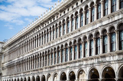 Angled View of Doges Palace Royalty Free Stock Photo