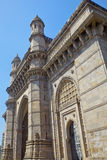 Angled view of Gateway to India Royalty Free Stock Photo