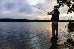 Angler royalty free stock photos