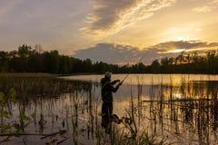 Angler royalty free stock photography