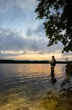 Angler stock photography