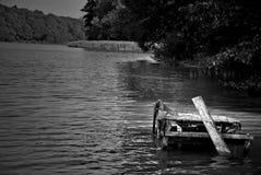 Angler& x27; ponte de s fotografia de stock royalty free