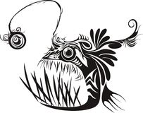 Anglerfish royalty free stock photos