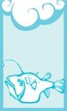 Anglerfish Deep Royalty Free Stock Images