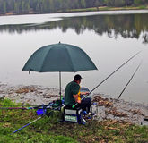 Anglers competition Stock Images