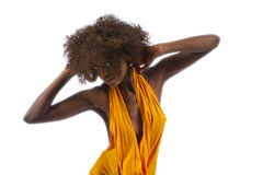 Angles of a beautiful black woman Royalty Free Stock Photo
