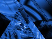 Angles and Blues Royalty Free Stock Photo