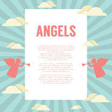 Angles With Pipes Background. Vector Illustration Stock Photo