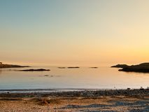 Anglesea wales beach sea view Stock Photography