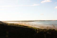 Anglesey海滩 库存图片