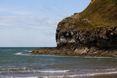 Anglesey海滩 库存照片