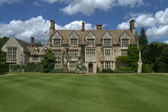 Anglesey Abbey, Jacobean style house Royalty Free Stock Images