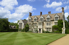 Anglesey Abbey, Jacobean style house Stock Photos