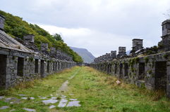 Anglesey baracker Royaltyfria Foton