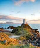 The Anglesey Coast. The stunningly beautiful Llanddwyn Island on the coast of Anglesey in north Wales Stock Photography