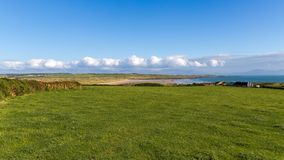 Anglesey coast, Wales, UK. Aberffraw Bay, Isle of Anglesey, Wales, UK Royalty Free Stock Images