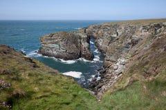 Anglesey Coastline Stock Photo