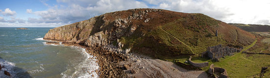 Anglesey Coastline Stock Image