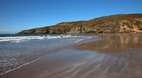 Anglesey Küstenpfad Stockfotos
