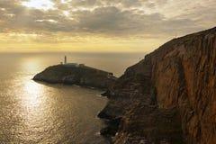 anglesey latarni morskiej północni południe brogują Wales Fotografia Stock