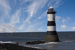 An Anglesey Lighthouse Stock Photos