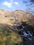 Angletarn beck, Lake District. Viewed from popular path between Patterdale and Hartsop Stock Images