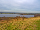 Anglezark reservoir Royalty Free Stock Photography