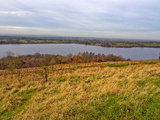 Anglezark reservoir Stock Photography