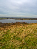Anglezark reservoir Stock Images