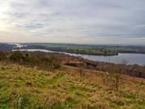Anglezark reservoir Stock Photo