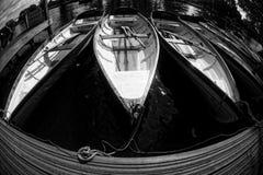 Anglia Avon Wioślarskie łodzie fotografia royalty free